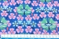 "Mobile Preview: Baumwolljersey ""Flora"" Swafing blau"